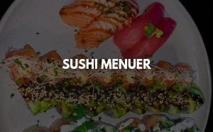 Sushi menuer